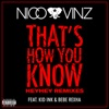 Thats How You Know feat Kid Ink Bebe Rexha HEYHEY Remixes Single