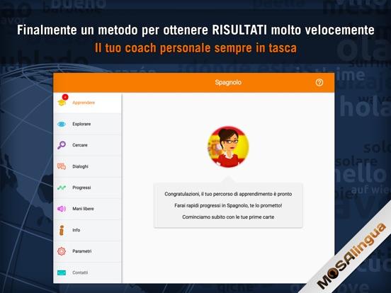 MosaLingua Impara lo spagnolo Screenshots