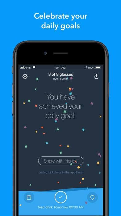 Water - Reminder and Tracker Screenshots