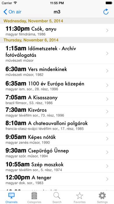 Hungarian TV+ Screenshots