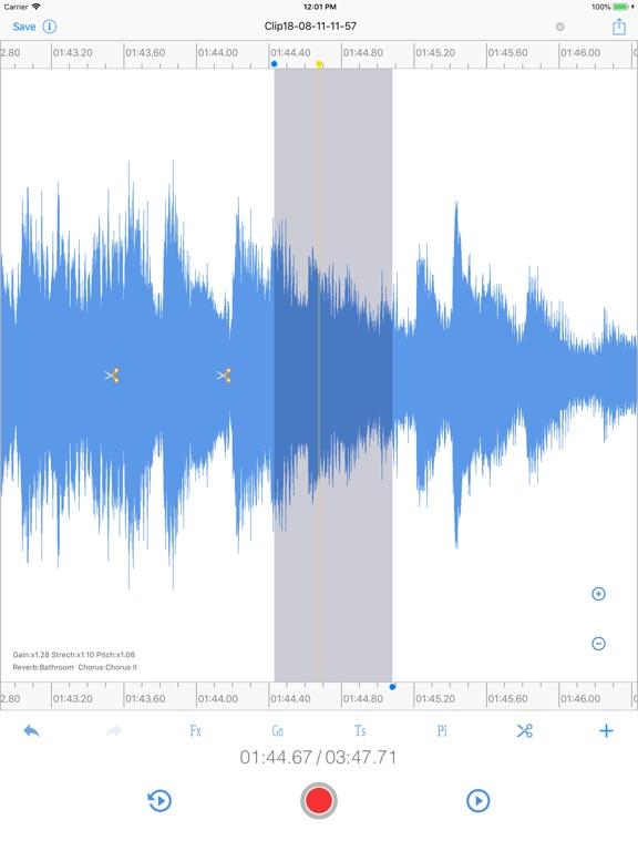 EZAudioCut - Audio Editor Screenshots