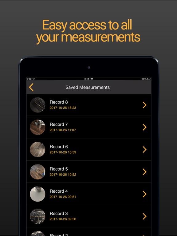Tape Measure AR Screenshots