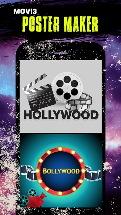 Movie posters maker