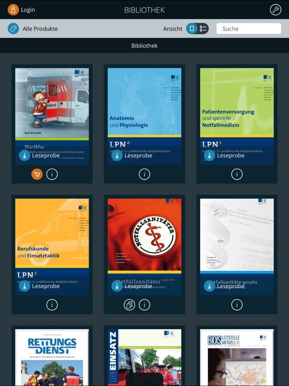 Rettungsdienst Bibliothek App - Preisentwicklung und Preisalarm ...