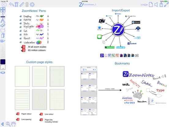 ZoomNotes Screenshots