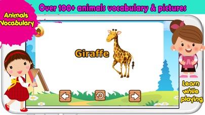 有趣的动物游戏婴儿和学龄前幼儿