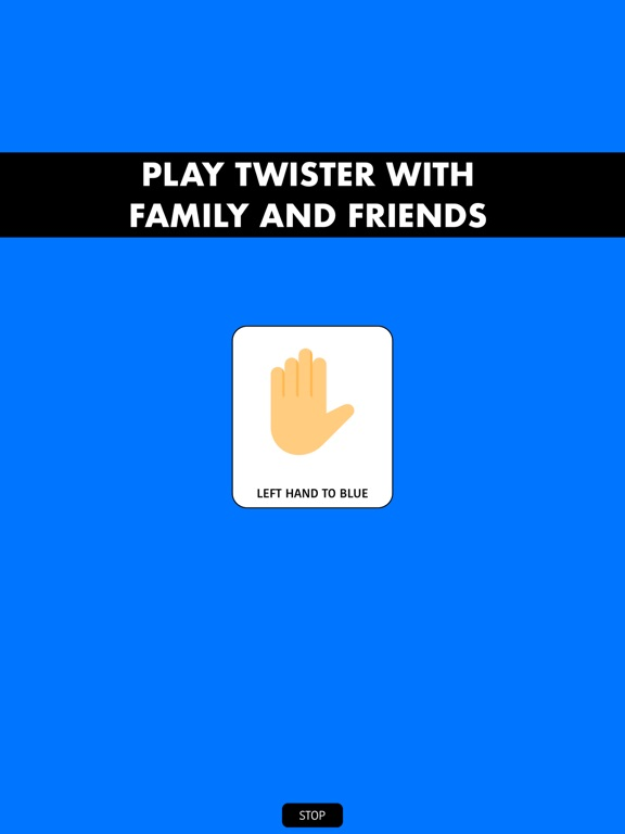 Twister game spinner Screenshots