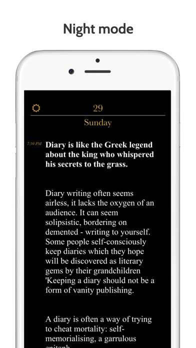 Moment - Diary / Journal lock Screenshots