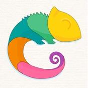Calmeleon: книжка-раскраска для взрослых