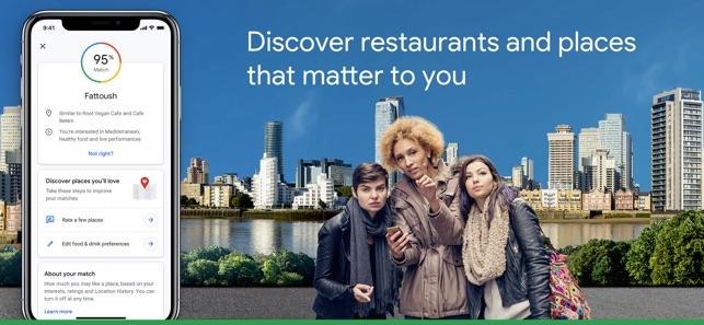 E2 80 8egoogle Maps Transit Food On The App Store