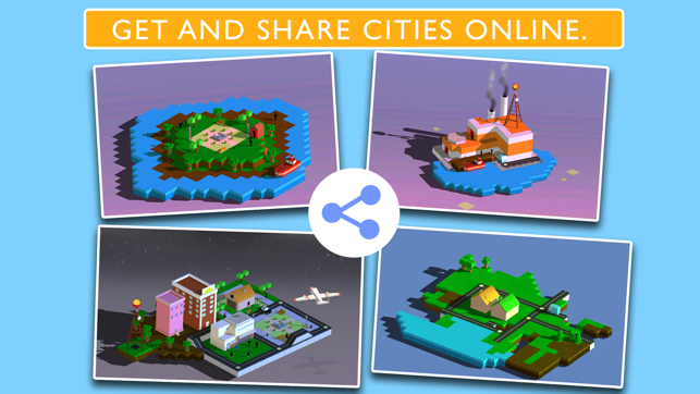 ‎Blox 3D City Creator Screenshot