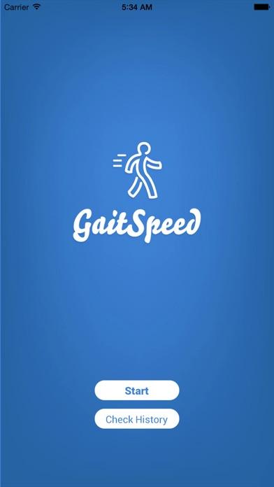 Gait Speed Screenshots