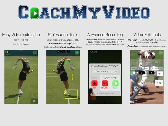 CMV Pro: Frame-Frame Video Analysis - CoachMyVideo Screenshots