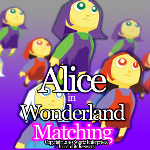 Alice in Wonderland - Matching Game