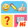 Try to figure out what the emoji icons are telling you in this puzzle game