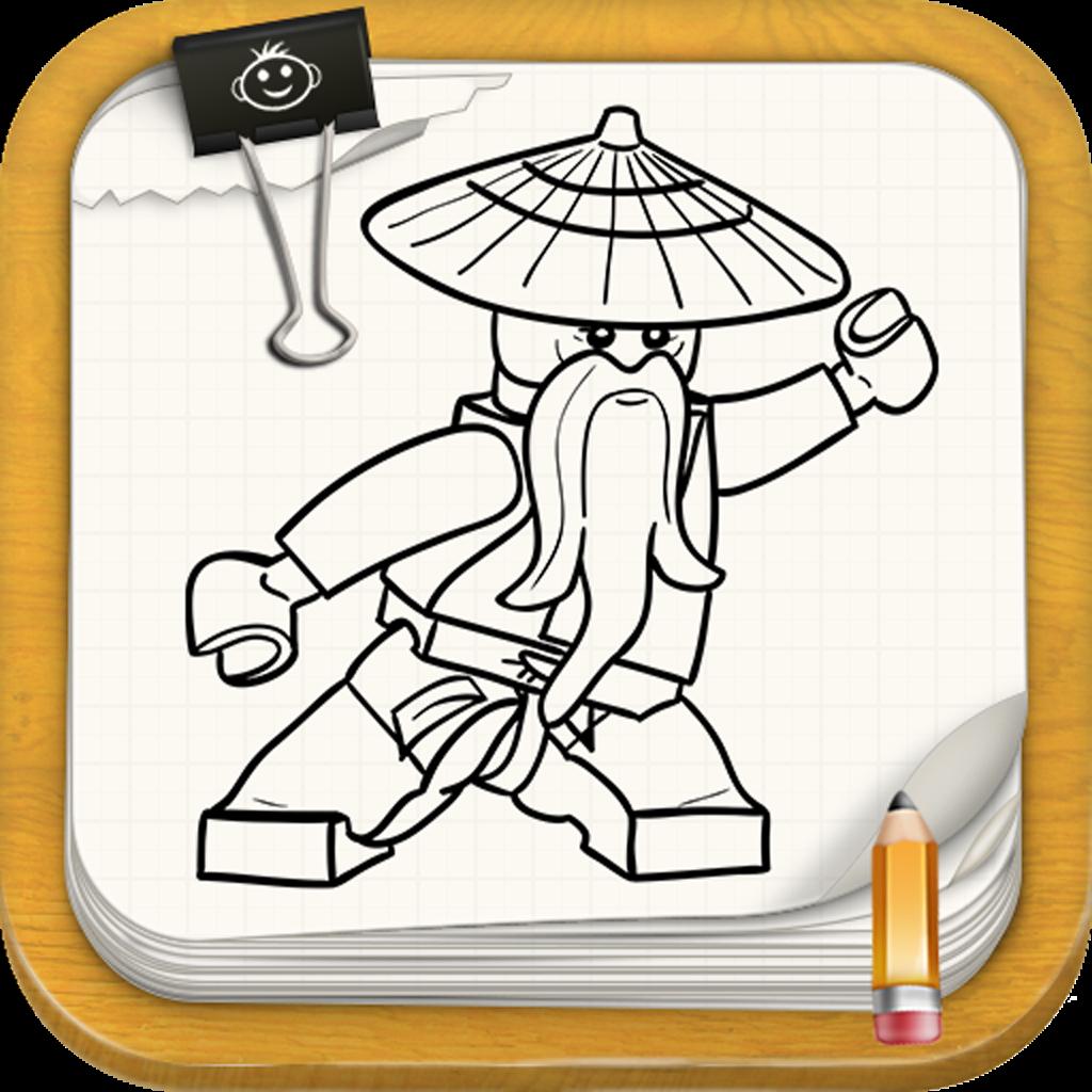Learn To Draw : Ninjago Version Of Lego