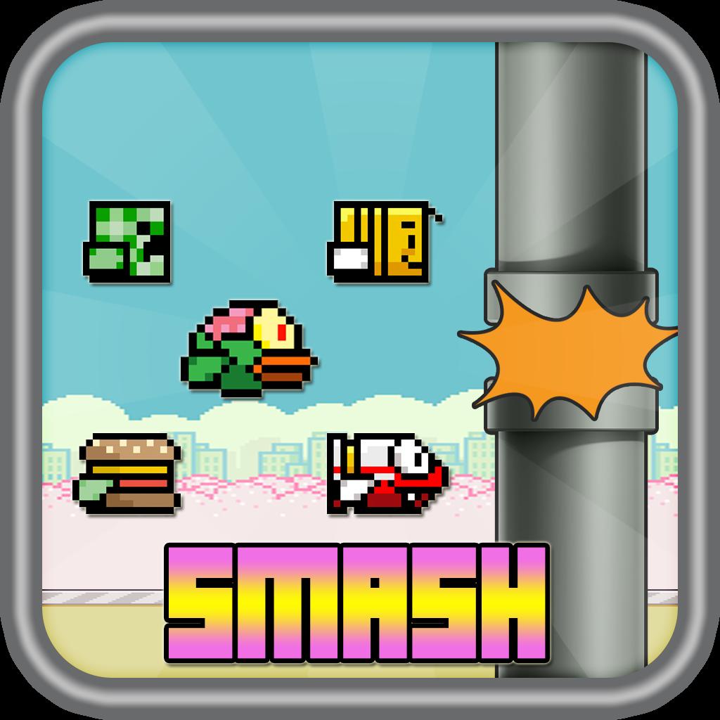 Flappy Smash : Flying World Revenge