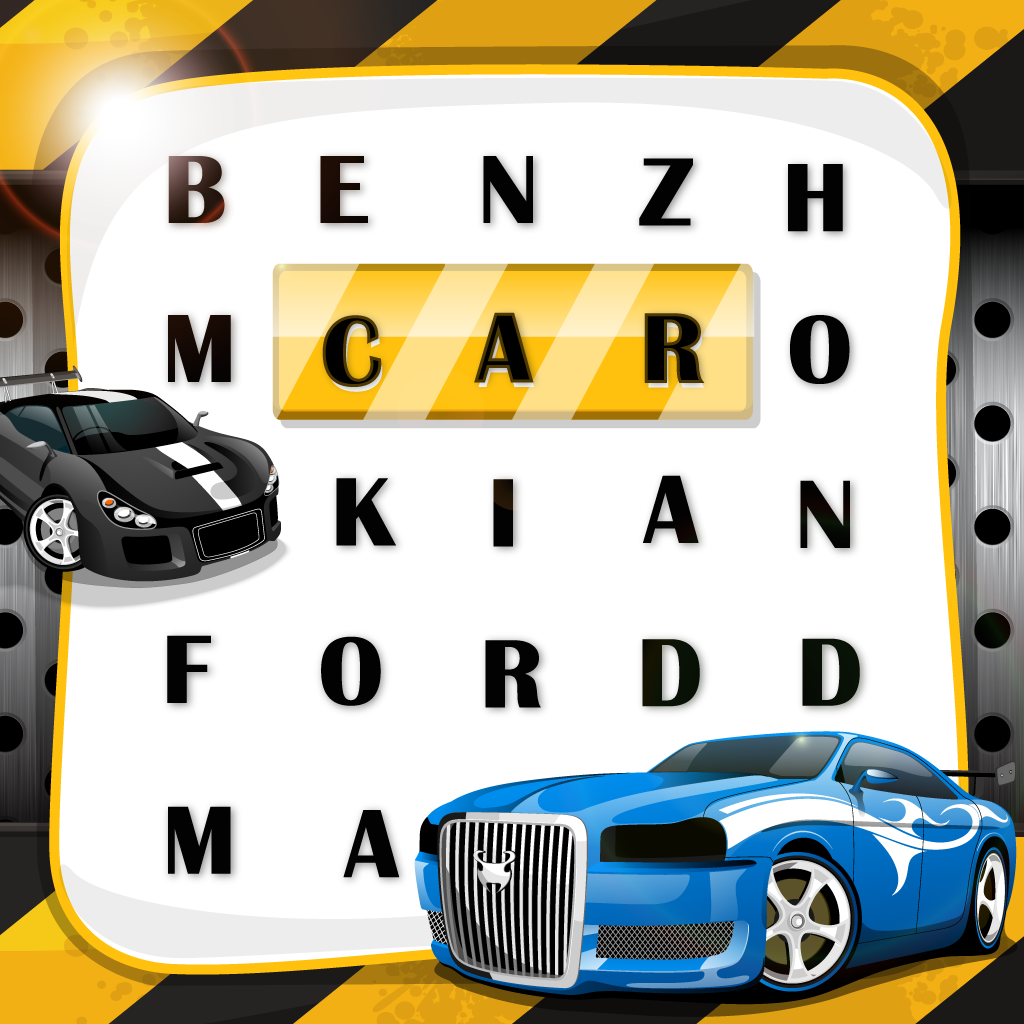 "Word Search Auto Motive and The Real Cars ""Super-Fast Wording Edition"""