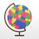 FourColor2 - つくってあそべる四色問題パズル - 世界地図編