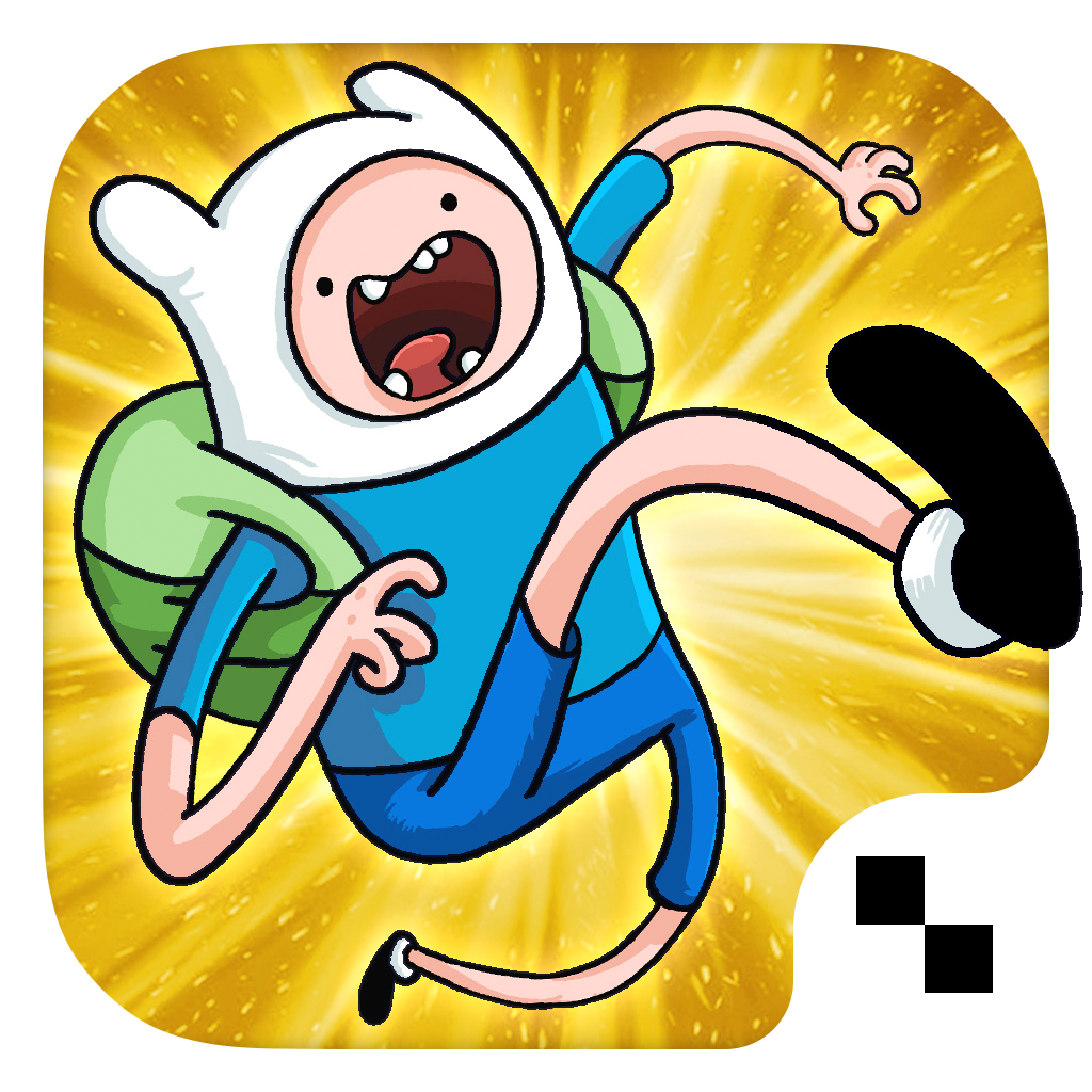 Jumping Finn Turbo - Adventure Time Launcher Game