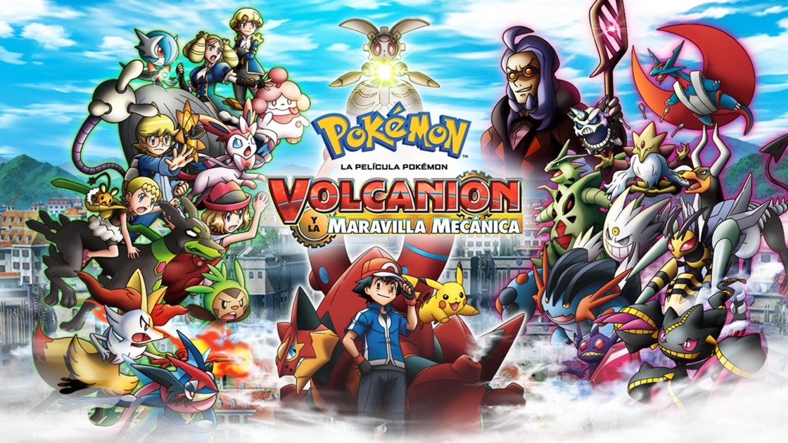 Pokemon The Movie Volcanion And The Mechanical Marvel On Apple Tv