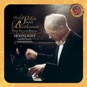 """Rudolf Serkin - I. Adagio sostenuto from Sonata for Piano No.14 in C-Sharp Minor, Op. 27, No. 2 (""""Moonlight"""")"""