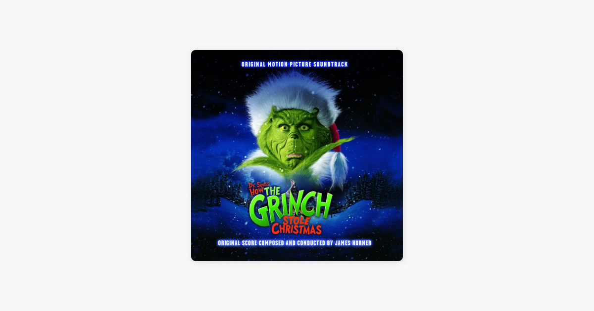 how the grinch stole christmas 2000 soundtrack