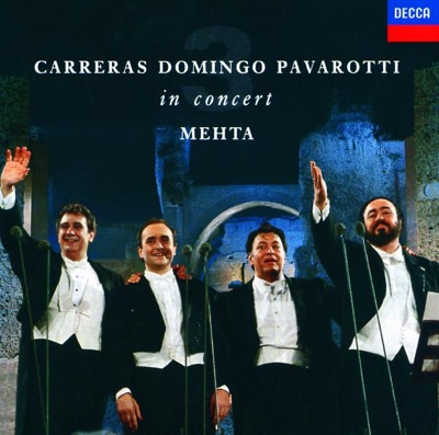 The Three Tenors In Concert - José Carreras, Luciano Pavarotti & Plácido Domingo album