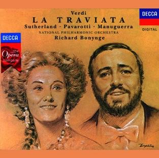 Verdi: La Traviata – Dame Joan Sutherland, Luciano Pavarotti, Matteo Manuguerra, National Philharmonic Orchestra & Richard Bonynge