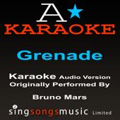 Grenade (In the Style of Bruno Mars) [Karaoke Version]
