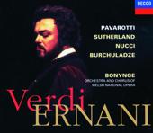 Verdi: Ernani (2 CDs)-Dame Joan Sutherland, Leo Nucci, Luciano Pavarotti, Paata Burchuladze & Welsh National Opera Orchestra