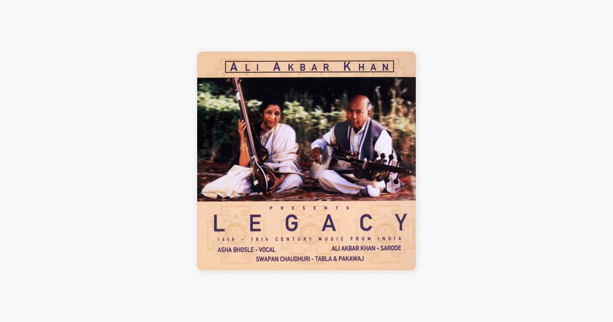 prayer In Bhairavi By Asha Bhosle, Swapan Chaudhuri & Ali Akbar Khan On Apple Music