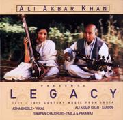 Legacy - Asha Bhosle, Swapan Chaudhuri & Ali Akbar Khan - Asha Bhosle, Swapan Chaudhuri & Ali Akbar Khan