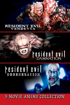 Resident Evil 3 Movie Anime Collection On Itunes