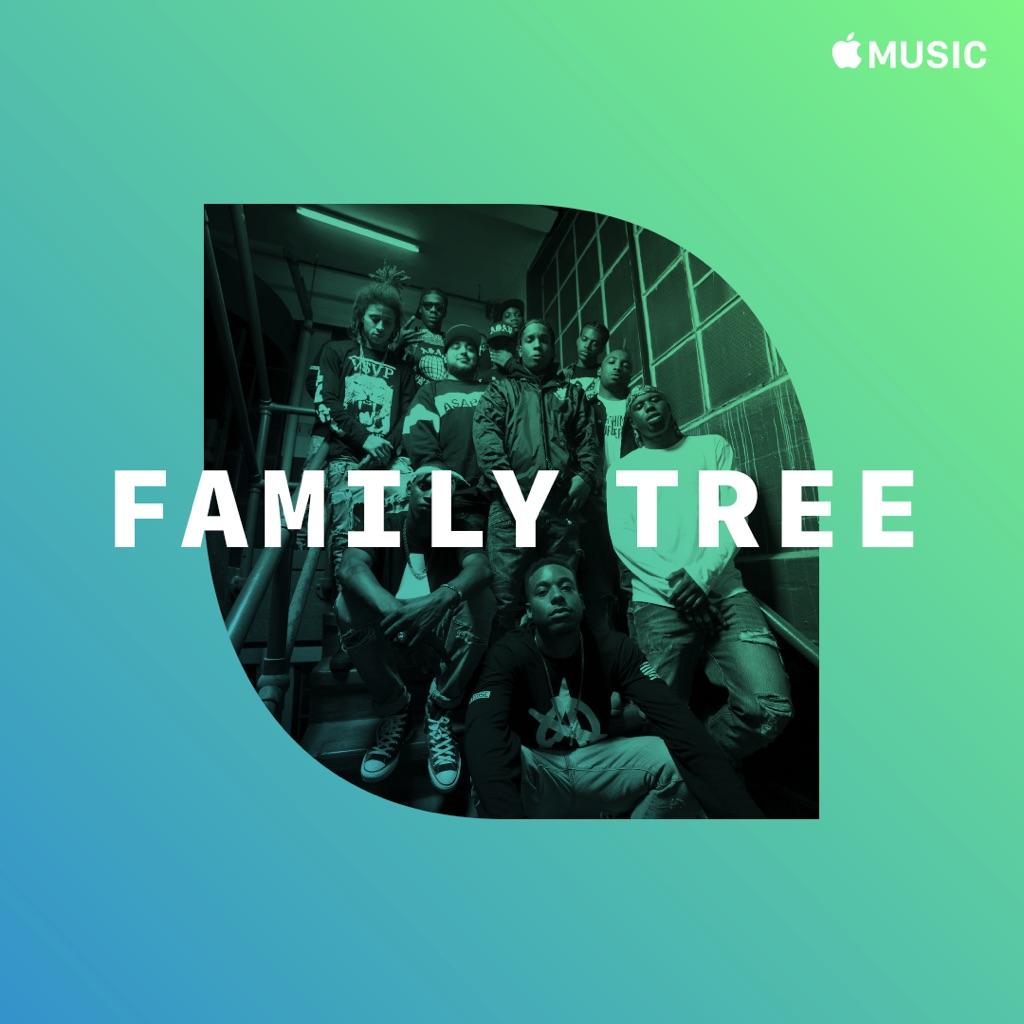 A$AP Mob: Family Tree