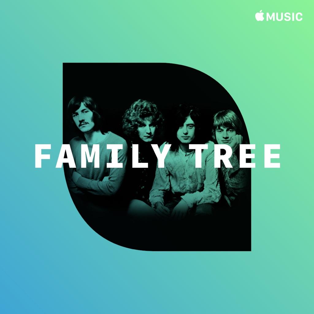 Family Tree: Led Zeppelin