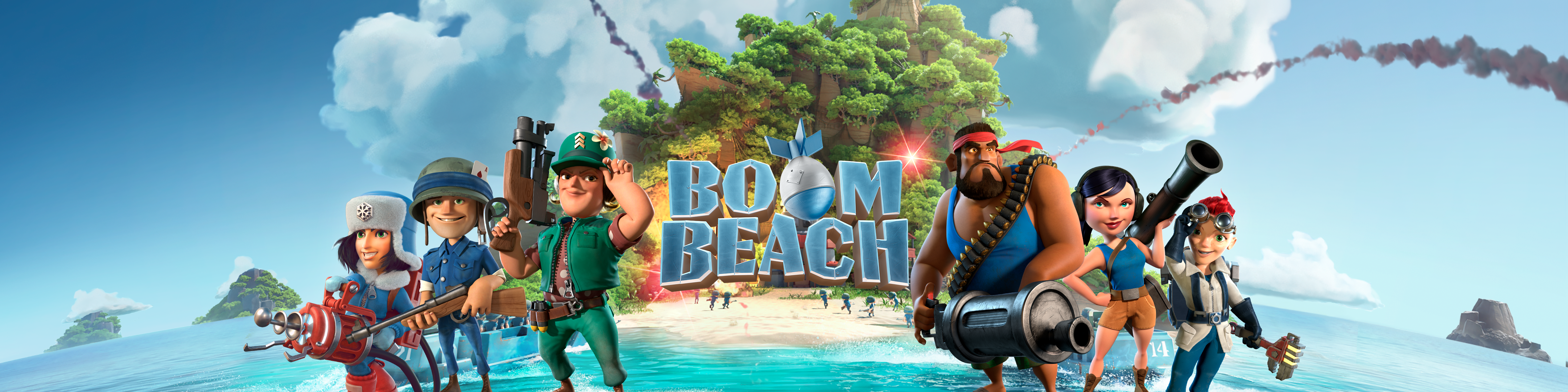 play boom beach on pc no download