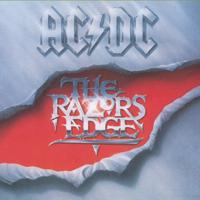 AC/DC - The Razors Edge artwork