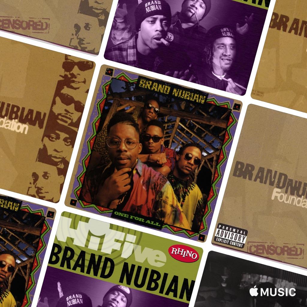 Brand Nubian Essentials