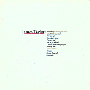 James Taylor - Greatest Hits, Vol. 1
