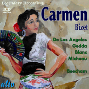 BIZET: Carmen (Complete) - Victoria De Los Angeles, Nicolai Gedda & Sir Thomas Beecham - Victoria De Los Angeles, Nicolai Gedda & Sir Thomas Beecham
