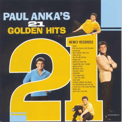 21 Golden Hits (Re-Recorded Versions) - Paul Anka