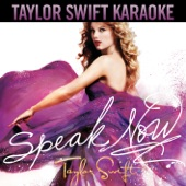 Speak Now (Karaoke Version)