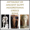 Charles Pricheta - The Mythology of Ancient Egypt, Mesopotamia, Greece and Rome (Unabridged) artwork