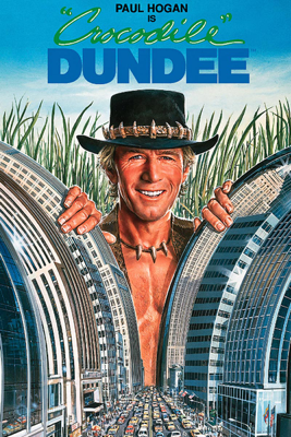 Peter Faiman - Crocodile Dundee illustration