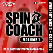 Spin Coach  Coached Spinning Cycling Workout Music Mix  Interval Based Hill Ride With Master Instructor Gregg Cook-Deekron 'The Fitness DJ'