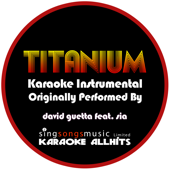 Titanium (Originally Performed By David Guetta feat. Sia) {Karaoke Audio Instrumental}