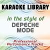 In the Style of Depeche Mode (Karaoke - Professional Performance Tracks) - Karaoke Library