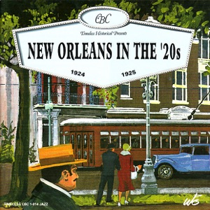 New Orleans In the '20s 1924-1925