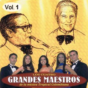 Varios Artistas - Cuatro Grandes Maestros De La Música Tropical Colombiana Volume 1